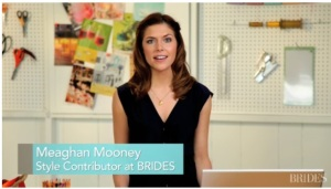 Meaghan Mooney, Style Expert at Brides Magazine