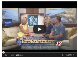INTERVIEW: http://youtu.be/AH0J3FeL7yo  The 10th annual 'Singing Out Against Hunger' event is this wknd in #RI @ Evelyn's Drive-In.  #endinghunger