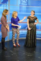 On Model: Hair/Makeup by Studio B Salon; Dress/Bag from Sonya's Clothing