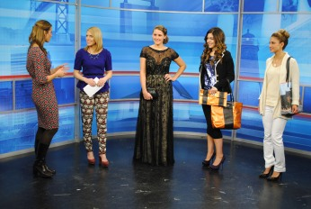Host/Style Contributor Meaghan Mooney Covers Winter Fashion W/ Host Michaela Johnson