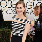 Allison Williams, Golden Globes 2014