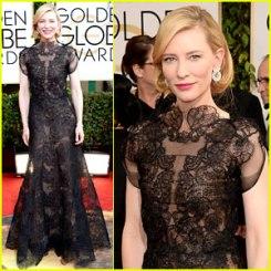 Cate Blanchett, Golden Globes 2014
