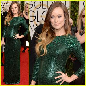Olivia Wilde, Golden Globes 2014
