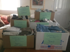 Check out Meaghan's blog post on Spring Cleaning and donating to Goodwill Industries