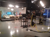 """Everyday"" show's set while on-air"