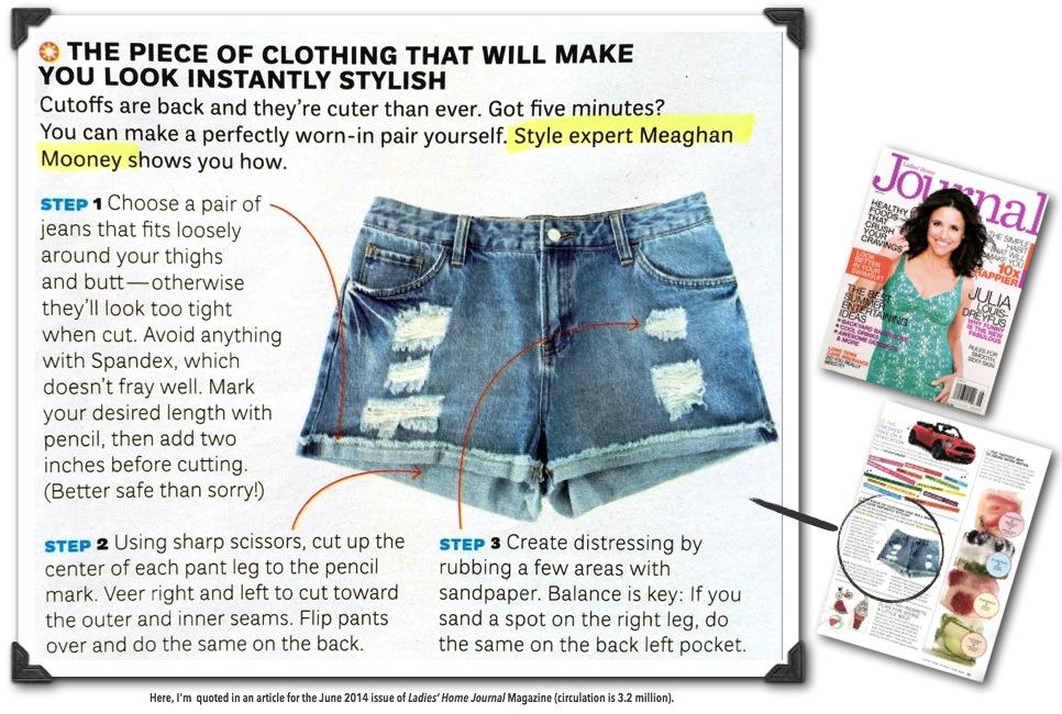 My diy style tips in ladies home journal mag meaghan mooney meaghan mooney style expert in lhj magazine june 2014 solutioingenieria Gallery