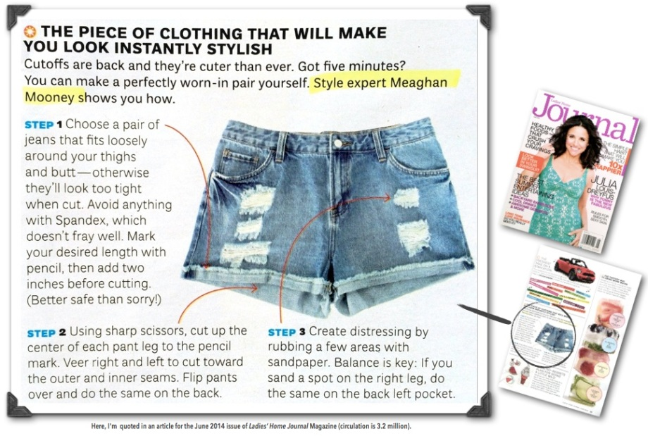 Meaghan Mooney, Style Expert in LHJ Magazine June 2014