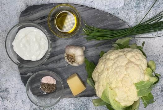 simple list of ingredients